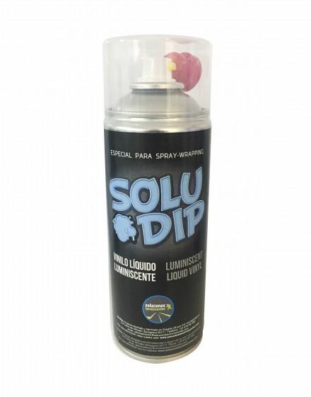 Formato de spray vinilo líquido luminiscente