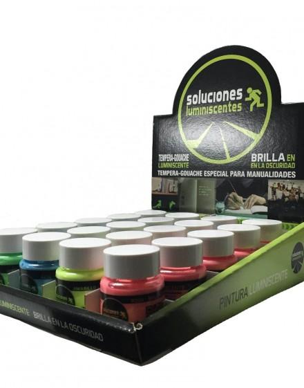 Formato de venta para retail pintura luminiscente base agua
