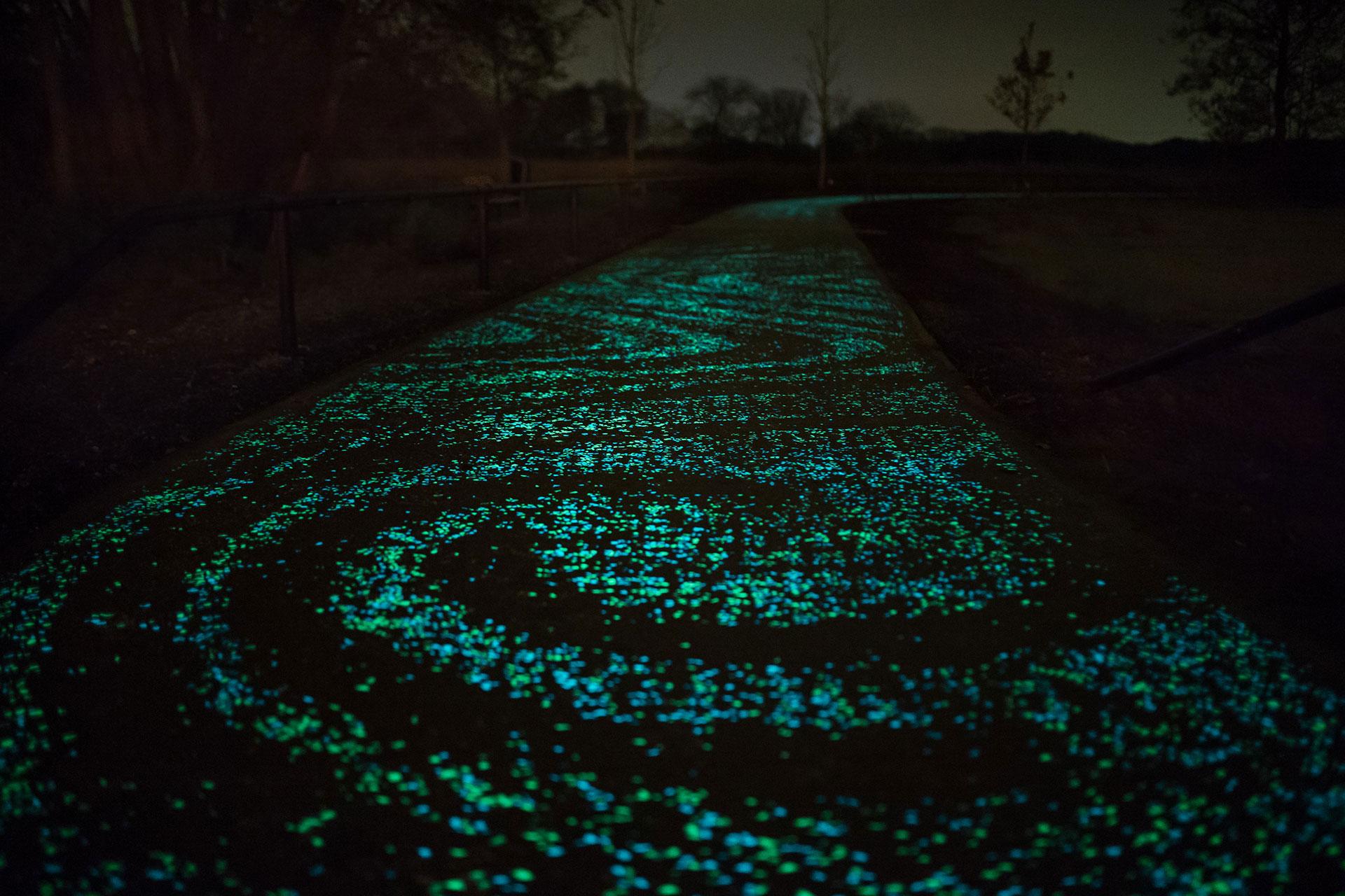 Camino luminiscente prototipo para Canarias y resto de España