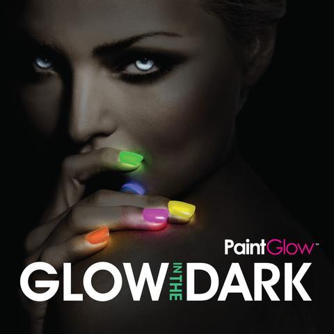 Maquillaje facial y corporal efecto luminiscente y neón paintglow canarias
