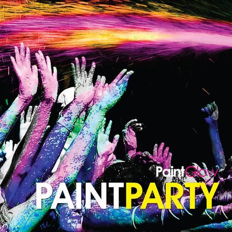 Equipamiento y productos para fiestas de pintura Paintglow en Canarias