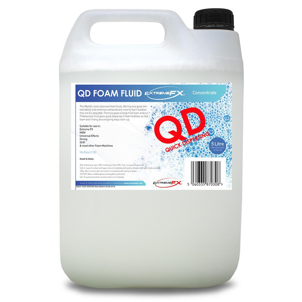 Líquido profesional para hacer espuma 5l. de rápida dispersión