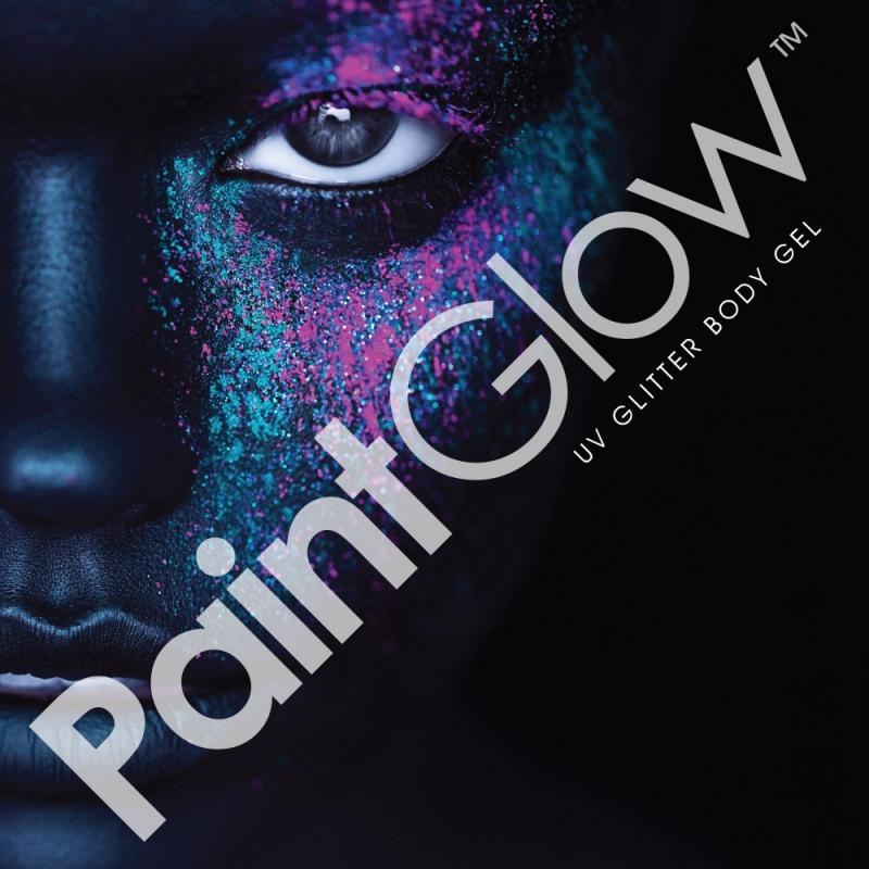 Maquillaje brillante uv neón Paintglow en Canarias