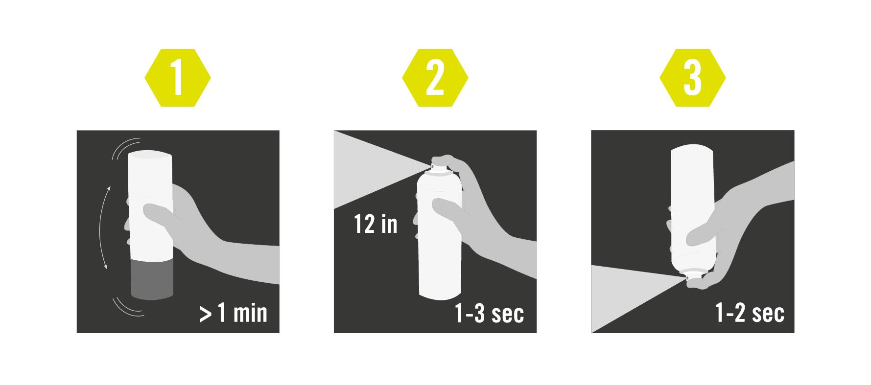 Aplicación spray reflectante Albedo100