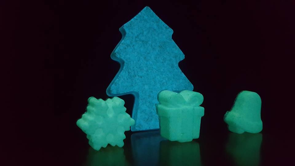Ejemplo de piezas a medida fotoluminiscentes Nightway