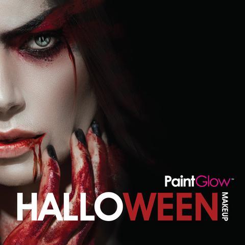 Maquillaje para Halloween y fiestas de terror PaintGlow Canarias