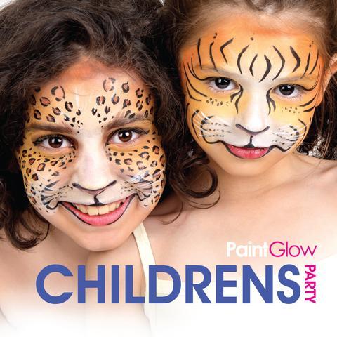 Maquillaje facial y corporal para niños y fiestas