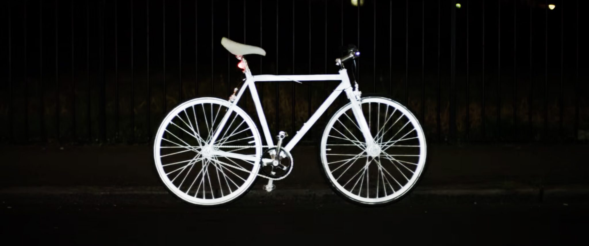 Albedo100 semipermanente para reflectar bicicletas