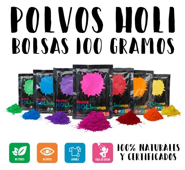 Polvo holi en bolsa de 100grs. en Canarias