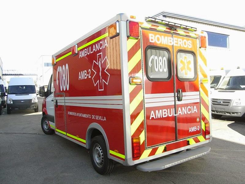 Vinilo reflectante 3M para coches de bomberos