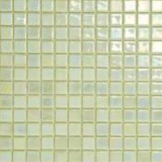 Mosaico de cerámica fotoluminiscente modelo greenish