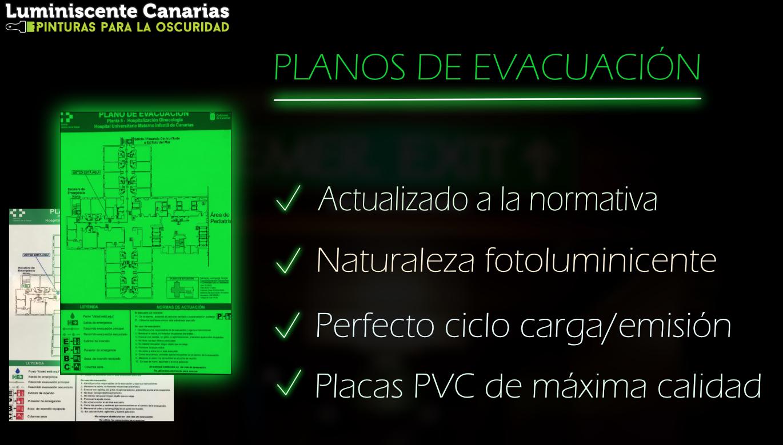 Fabricación de planos de evacuación a medida