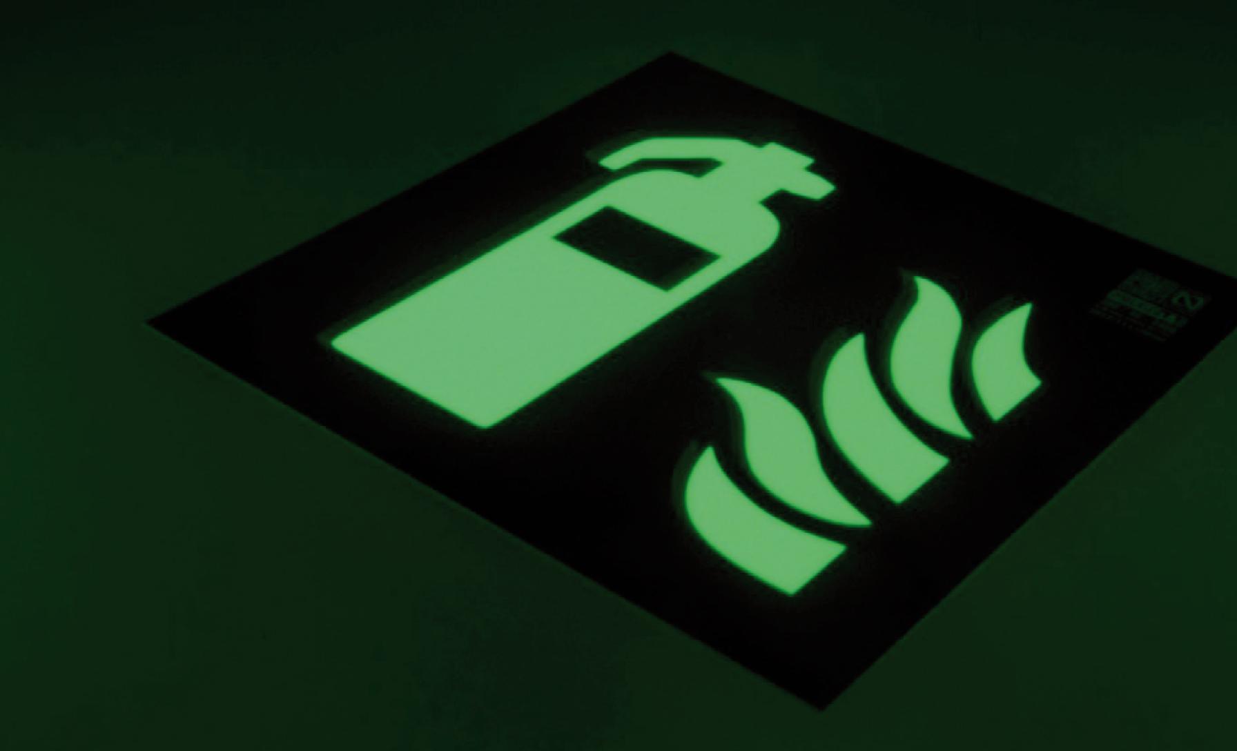 Pigmento en polvo fotoluminiscente en verde en Canarias